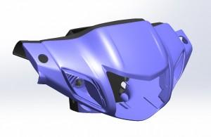 Motobike head